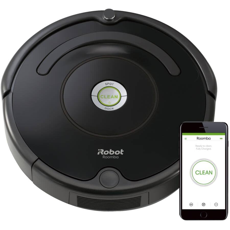 IROBOT:Roomba® 675 Wi-Fi Connected Robotic Vacuum