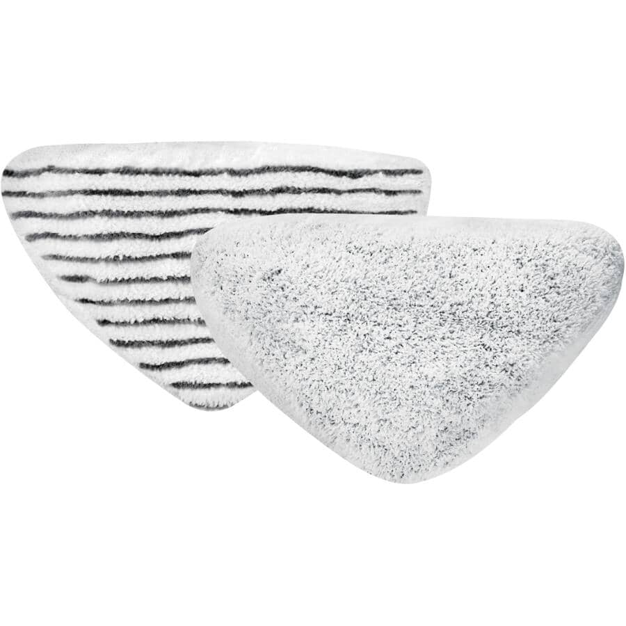 BISSELL:2 Pack PowerEdge Pads, for Bissel Steam Mop