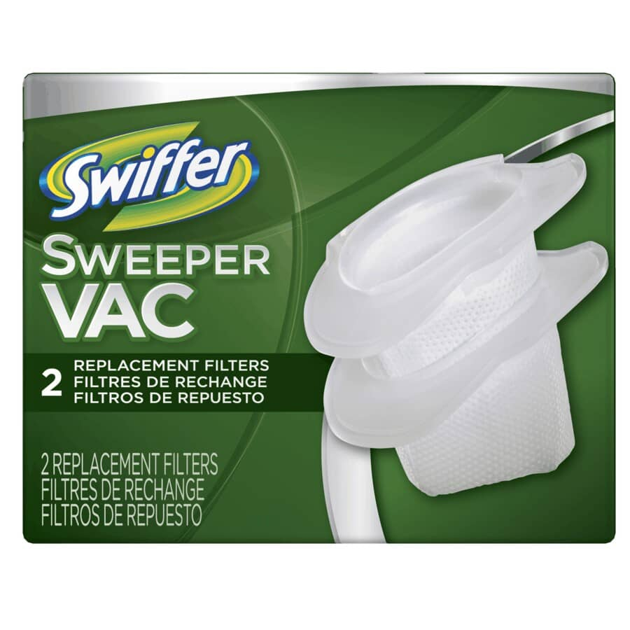 SWIFFER:Sweepervac Cup Vacuum Filters - 2 pack