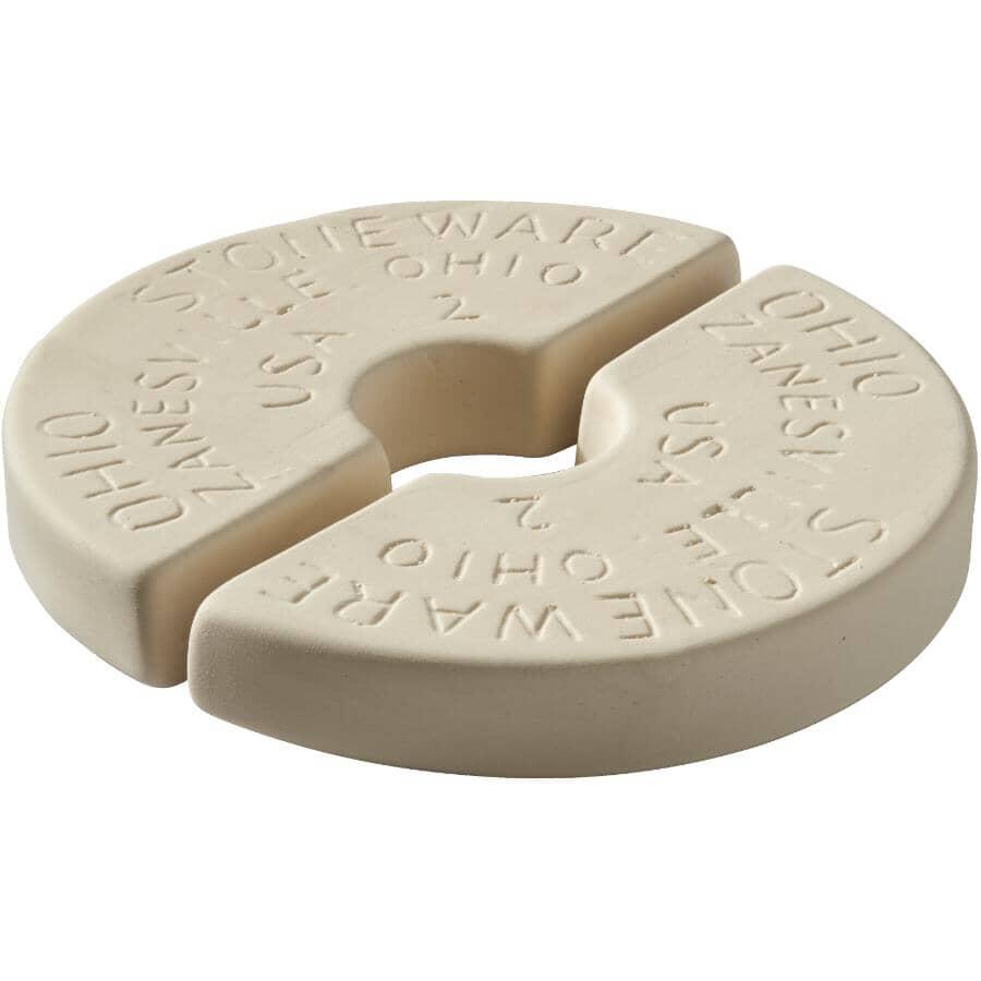 OHIO STONEWARE:2 Gallon Stoneware Crock Weight