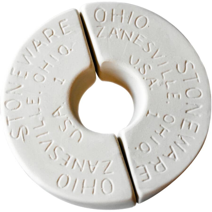 OHIO STONEWARE:1 Gallon Stoneware Crock Weight