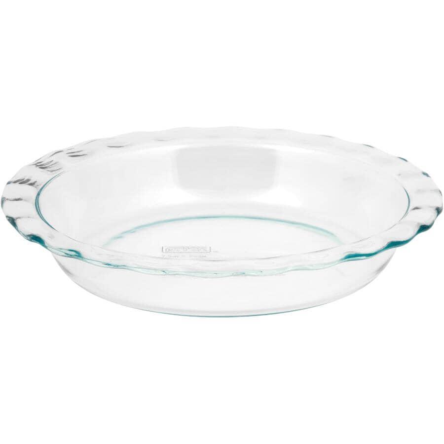 "PYREX:Easy Grab Glass Pie Plate - 9.5"""