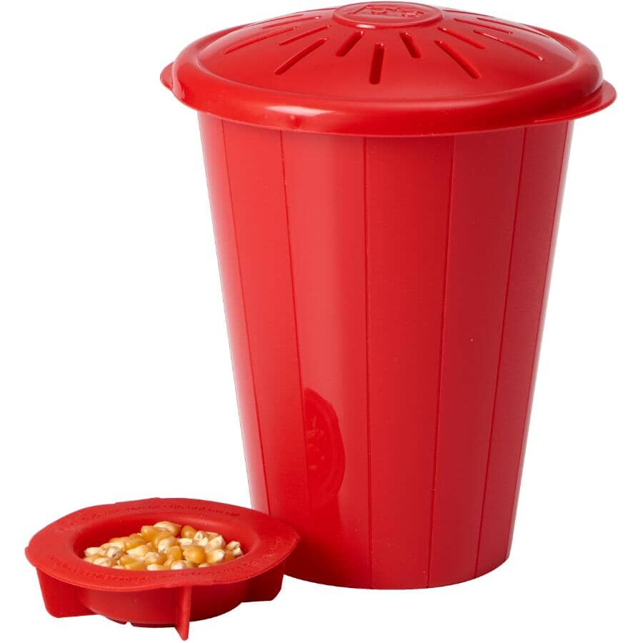 JOIE MSC:Silicone Microwave Popcorn Popper - 4 Cup