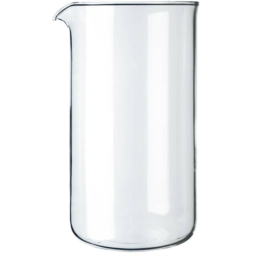 BODUM:Glass Replacement Coffee Press Carafe - 1 L