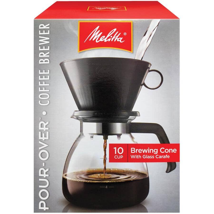 MELITTA:10 Cup Manual Coffee Maker