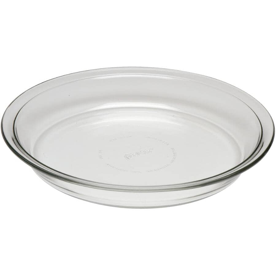 "PYREX:Glass Pie Plate - 9"""