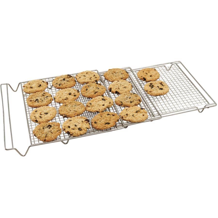 "KURAIDORI:Expandable Cooling Cake Rack - 14"" x 34.5"""