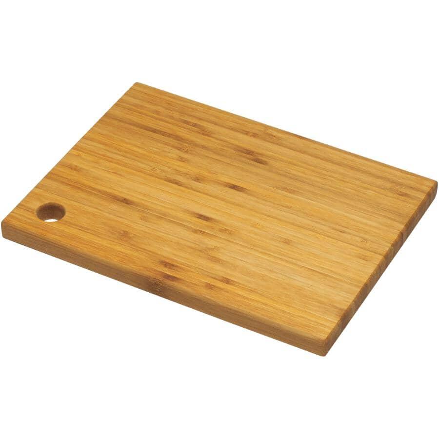 INSTYLE:Planche à découper en bambou, 12 x 9 po
