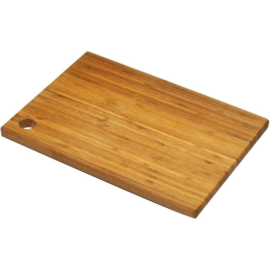 "INSTYLE:Bamboo Cutting Board - 14"" x 10"""