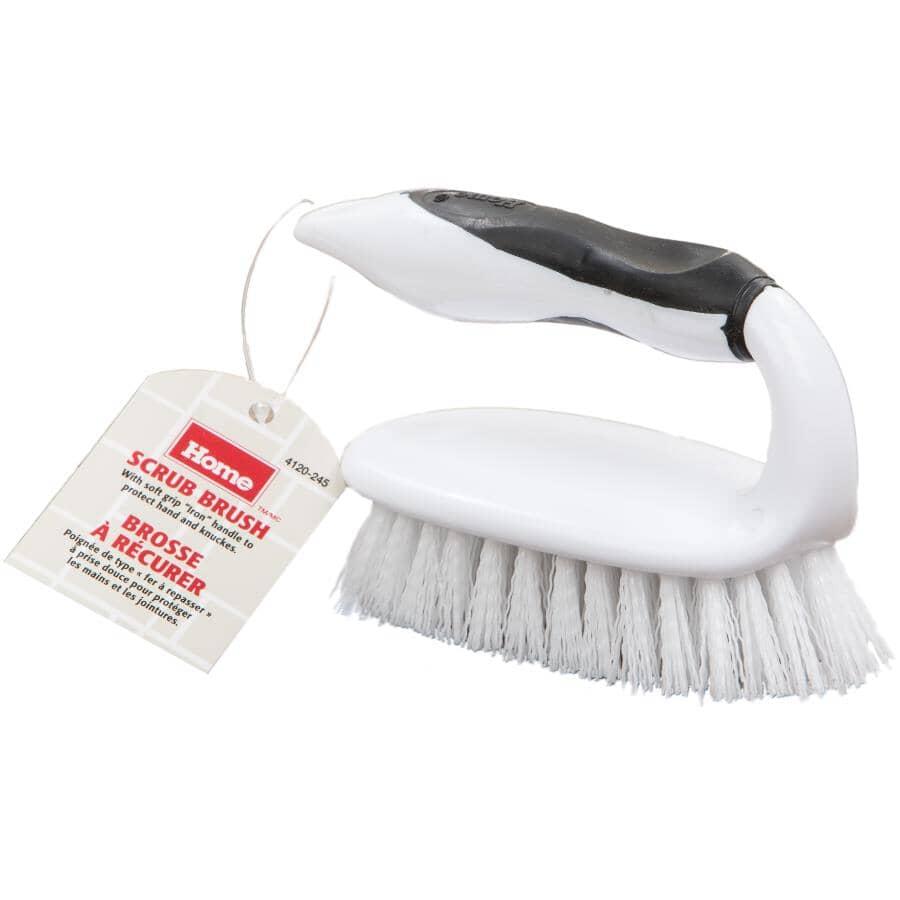 HOME:Soft Grip Iron Scrub Brush