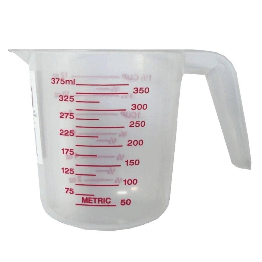 AL-DE-CHEF:Plastic Measuring Cup - 375 ml