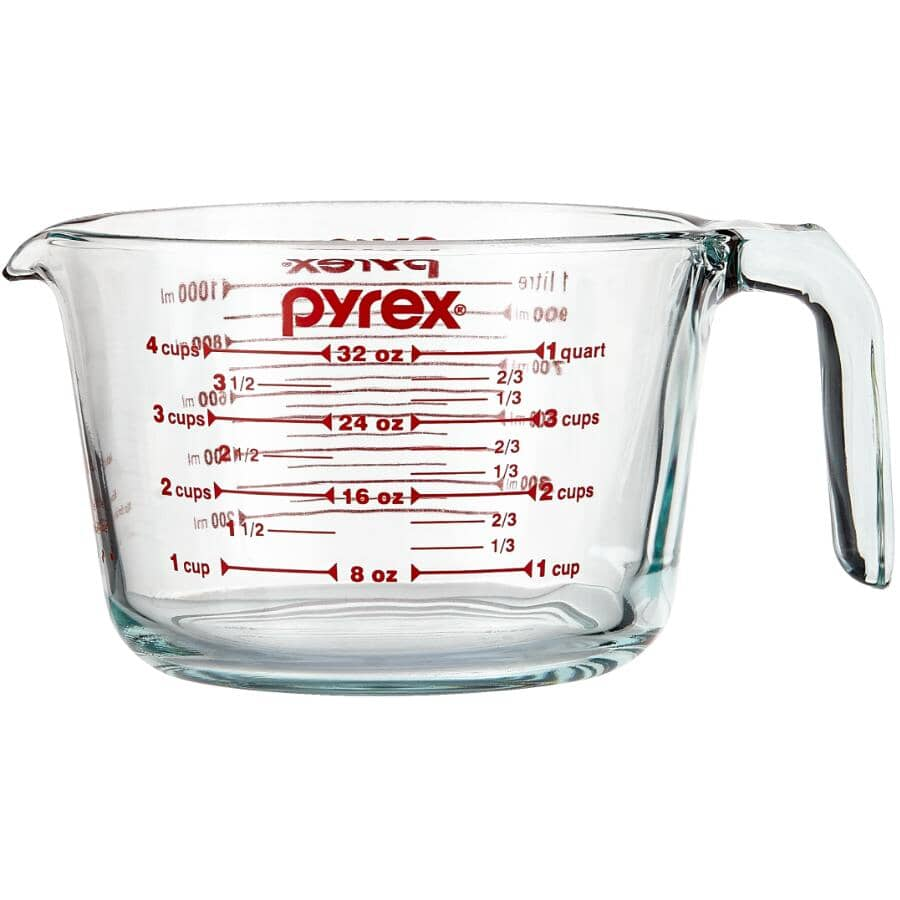 PYREX:Glass Measuring Cup - 1000 ml