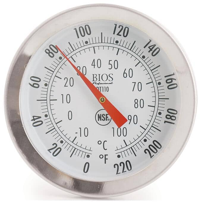 """BIOS PROFESSIONAL:Instant Read Dial Thermometer - 1.75"""""""