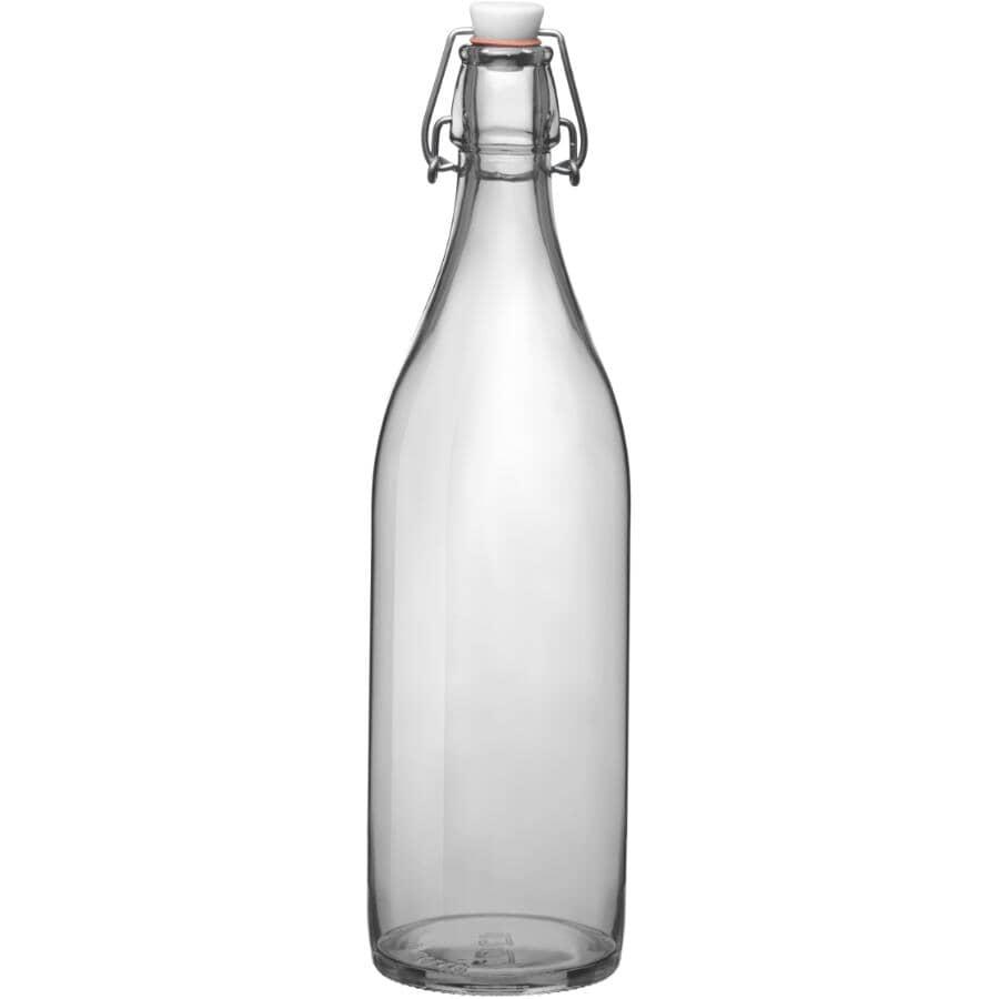 BORMIOLI ROCCO:1L Glass Clamp Top Giara Bottle