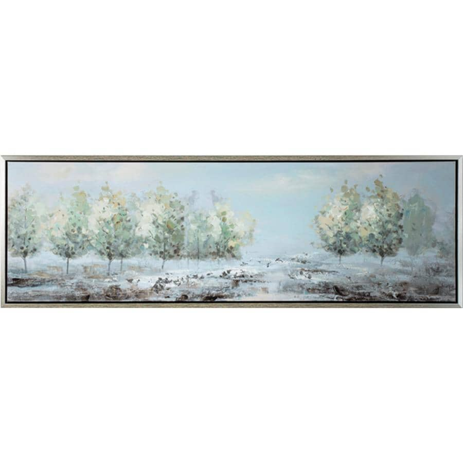 """STREAMLINE ART:21"""" x 61"""" Formation of Boundies Wall Plaque"""