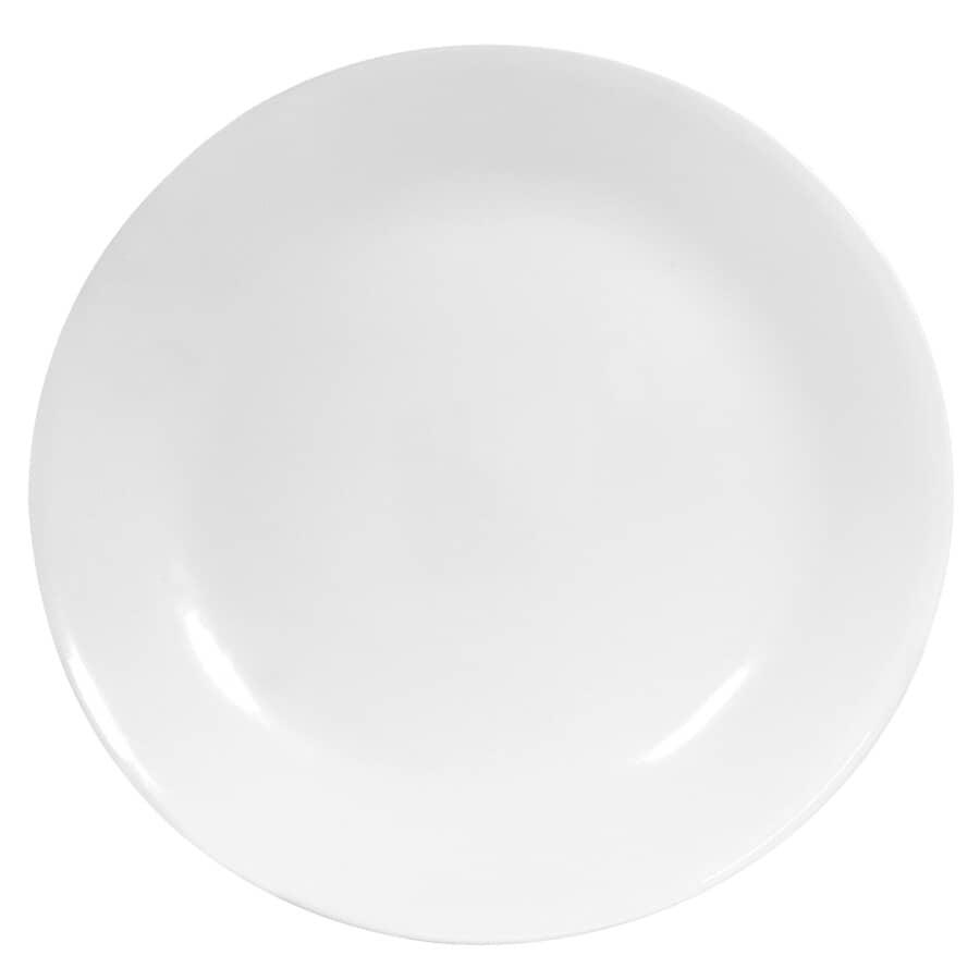 """CORELLE:10-1/4"""" White Dinner Plate"""
