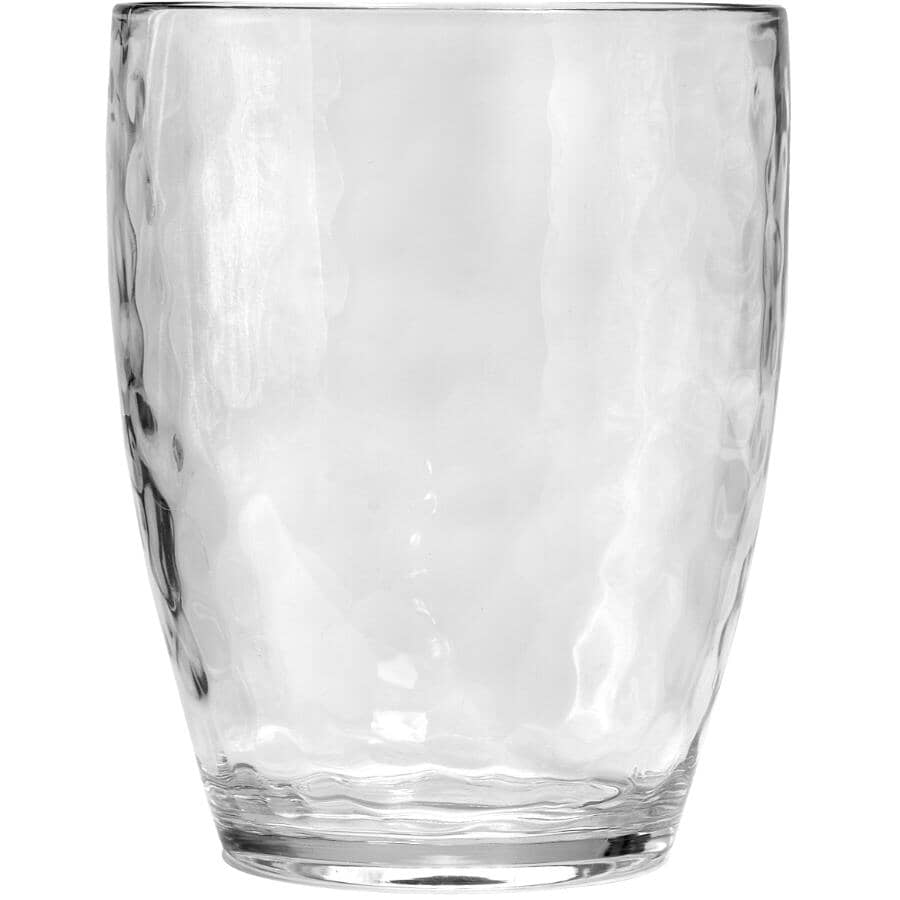 SULLY INNOVATIONS:16oz Hammered Clear Double Old Fashioned Tumbler
