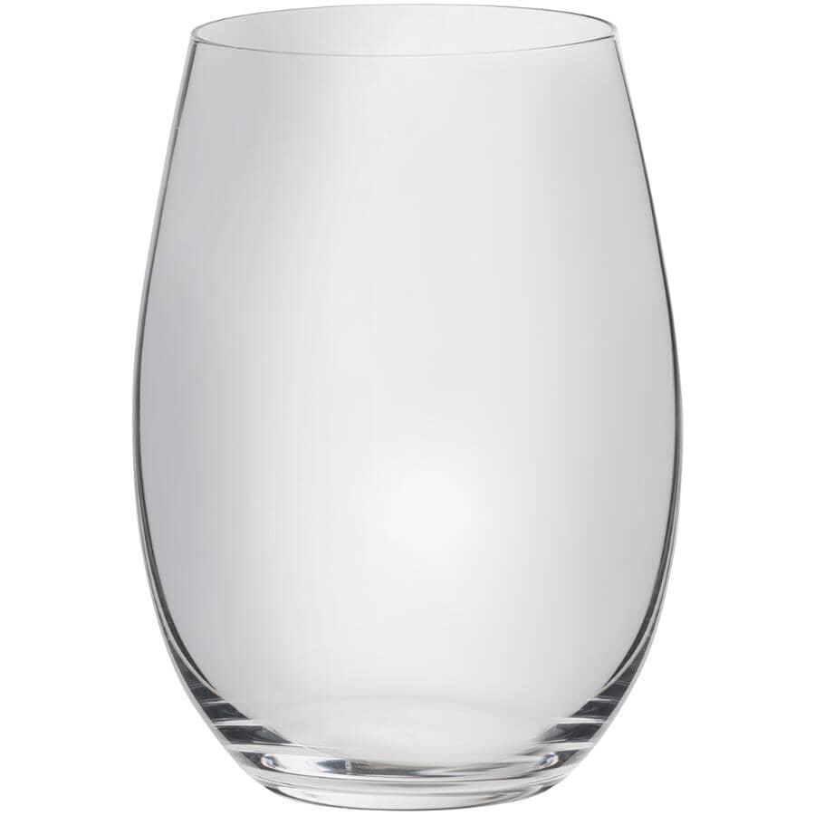 TRUDEAU:Splendido 19.75 oz Stemless Wine Glasses - Set of 4