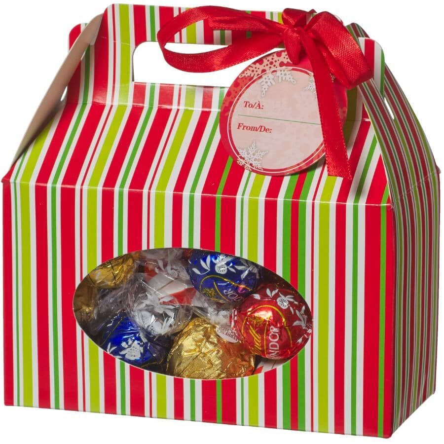 SANTA'S SECRETS:Folding Christmas Treat Box - 3 Pack