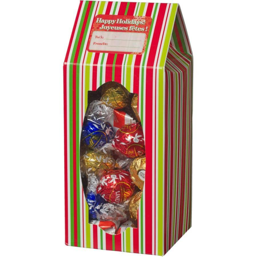 SANTA'S SECRETS:Folding Cookie Christmas Treat Box - 3 Pack