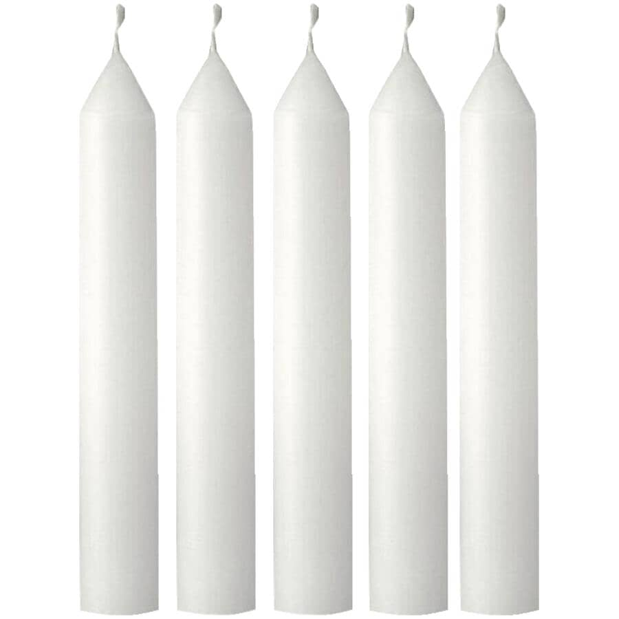 """RADIANCE:Emergency Candles - 5"""", 5 Pack"""