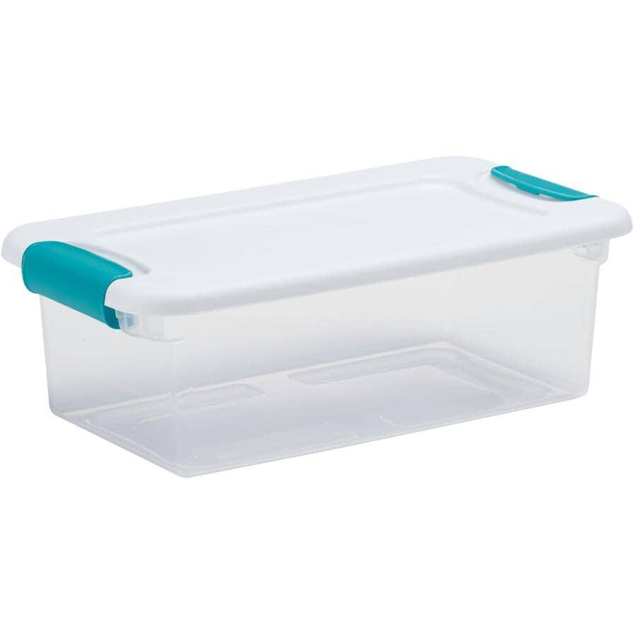 STERILITE:5.7L Latch Clear Storage Box