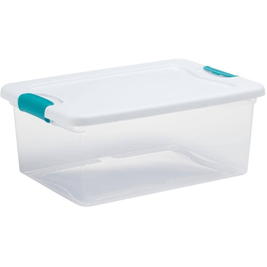 STERILITE:14L Latch Clear Storage Box