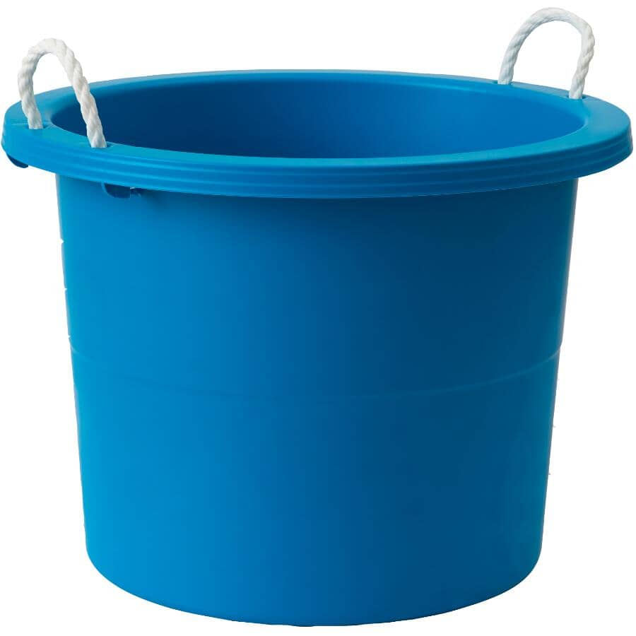 GRACIOUS LIVING:Storage Tub with Handles - Assorted Colours, 67 L