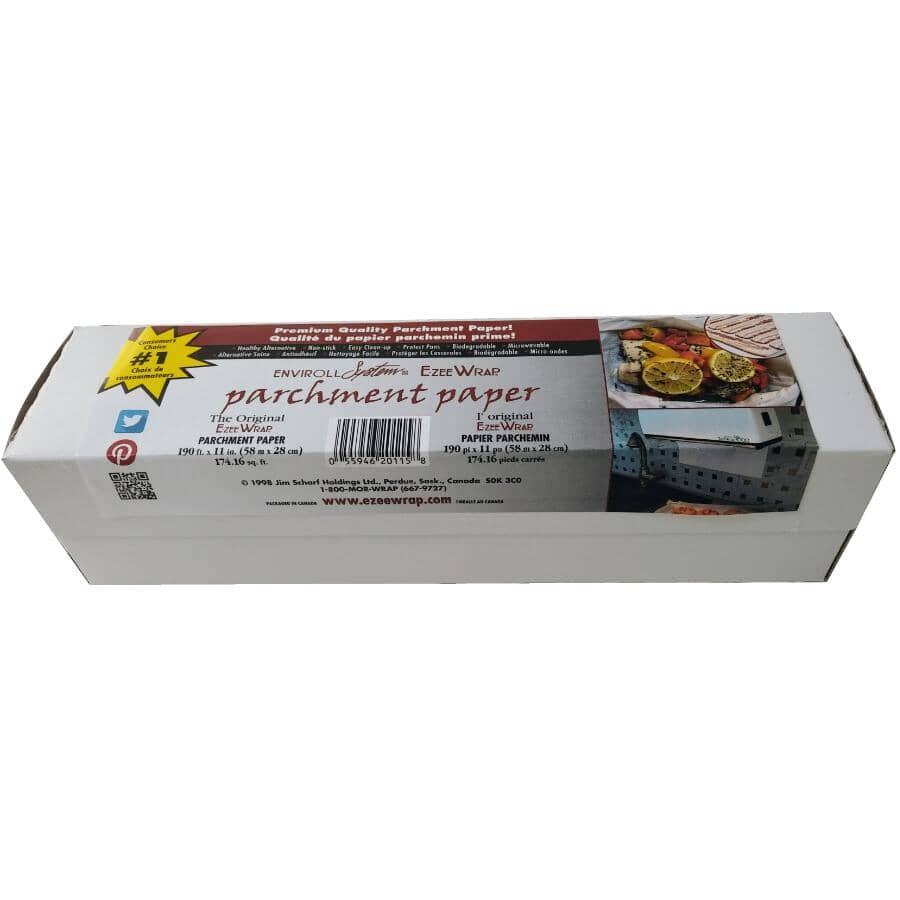"""E-ZEEWRAP:11"""" x 190' Parchment Paper"""