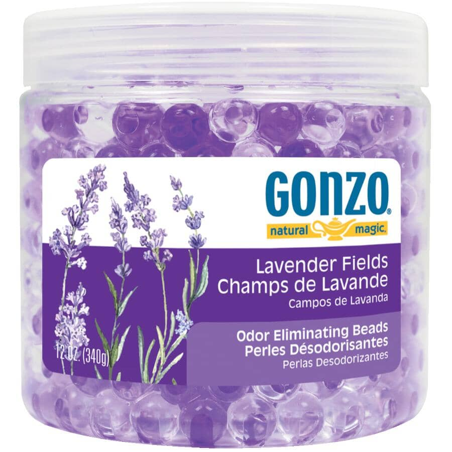 GONZO:Odour Eliminating Beads - Lavender Fields Scent, 340 g