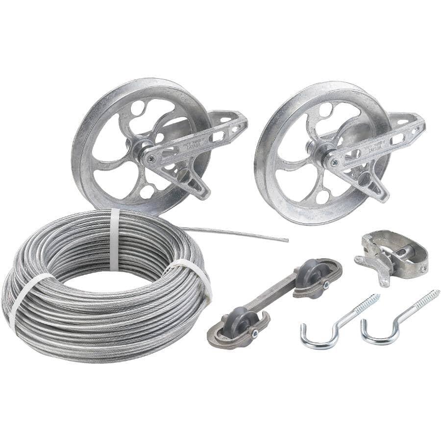 STRATA:Nécessaire de corde à linge robuste de 150 pi