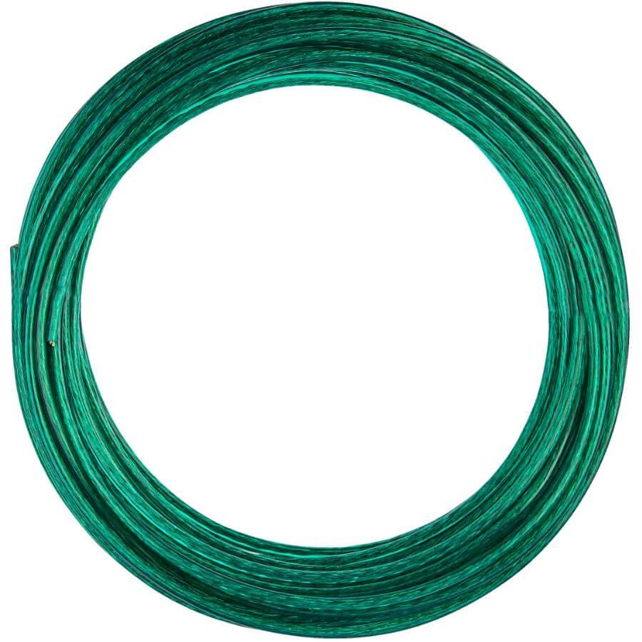 "STRATA:Steel PVC Clothesline - Green, 5/32"" x 50'"