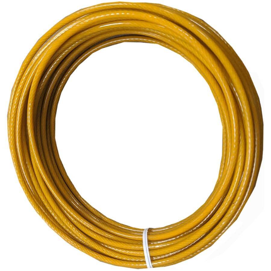 "STRATA:PVC Gold Extra Clothesline - 3/16"" x 50'"