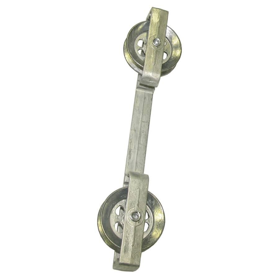 STRATA:Espaceur pour corde à linge résistant à la rouille, 10 po