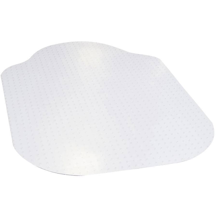 """DIMEX:Evolve Modern Shape Carpet Chair Mat - 36"""" x 48"""""""