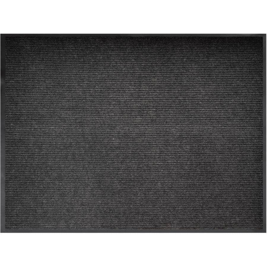"VENTURE CARPETS:Raven Collection Ribbed Door Mat - Athena, 36"" x 48"""