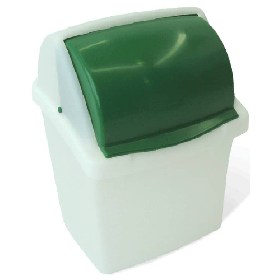 MISTRAL:12L Green/White Compost Can