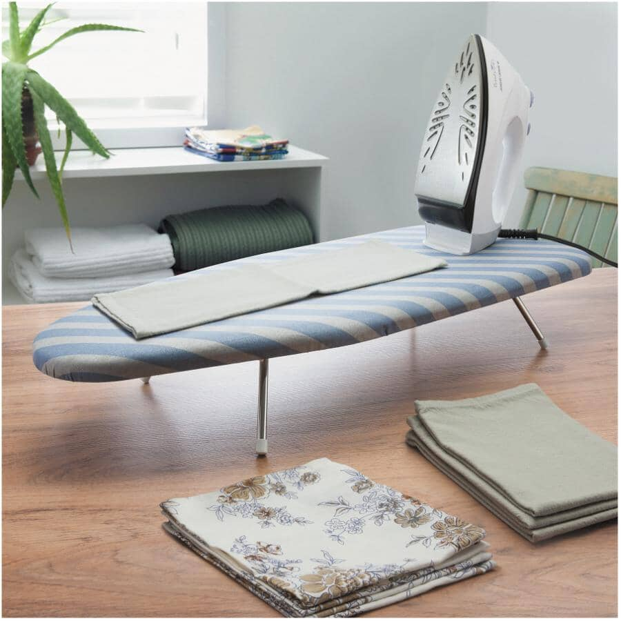 """HOMEWARES:Ironing Board Table - with Pad & Cover, 29"""""""