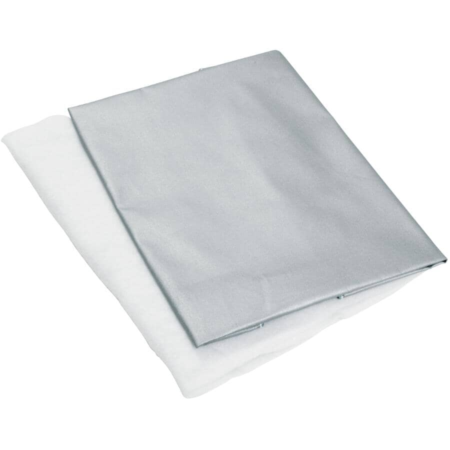 LAUNDRY SOLUTIONS:Ironing Board Pad & Cover