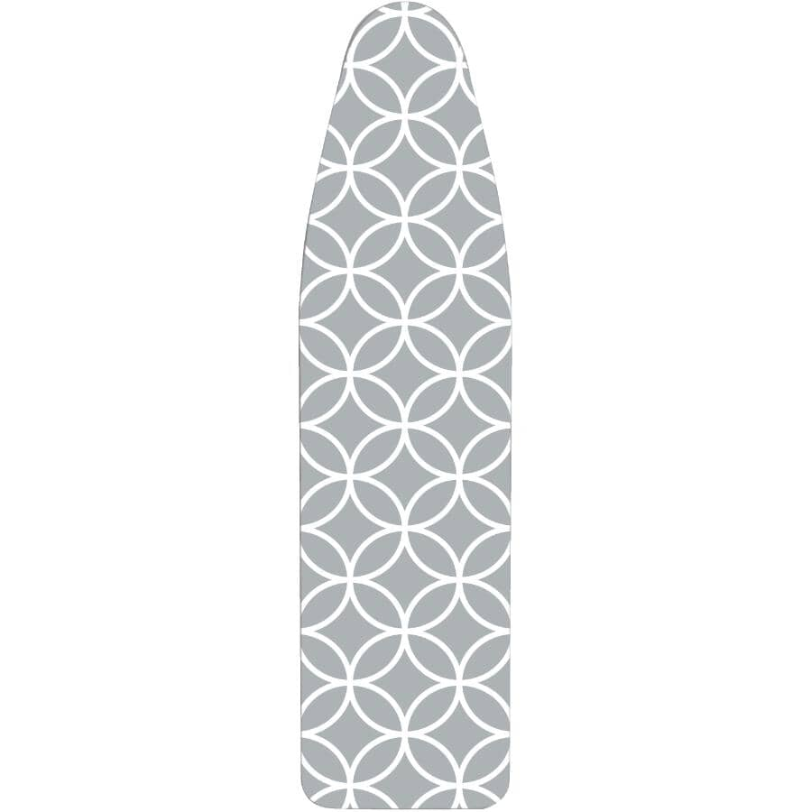 LAUNDRY SOLUTIONS:Deluxe Ironing Board Pad & Cover - Assorted Designs