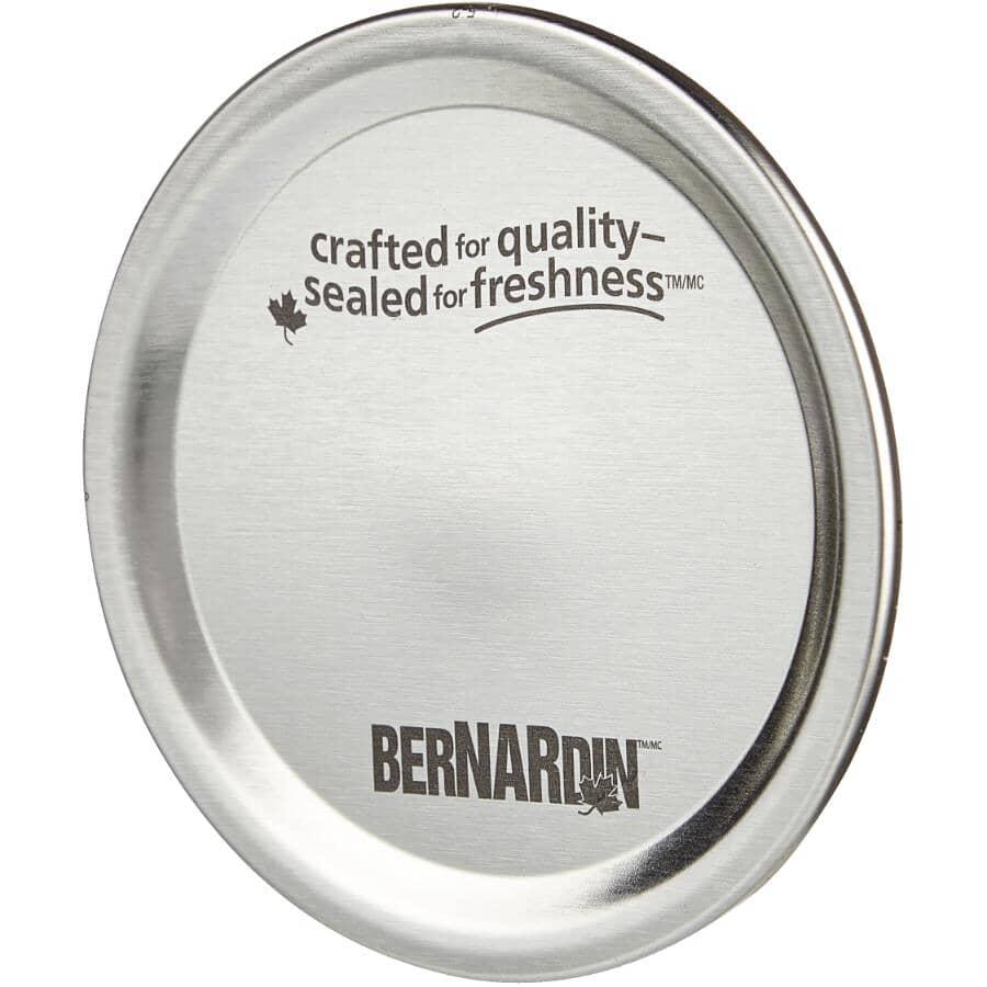 BERNARDIN:12 Pack Wide Mason Jar Lids