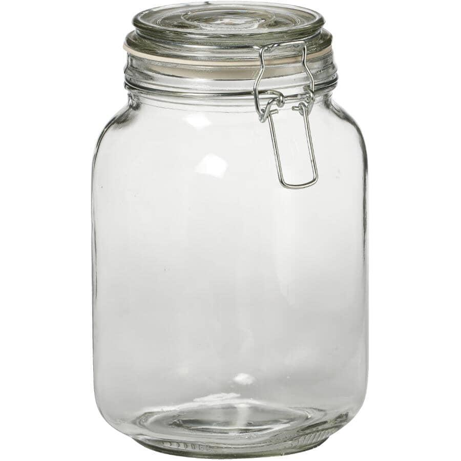 KITCHEN BASICS:Snap Top Food Jar - 1.5 L