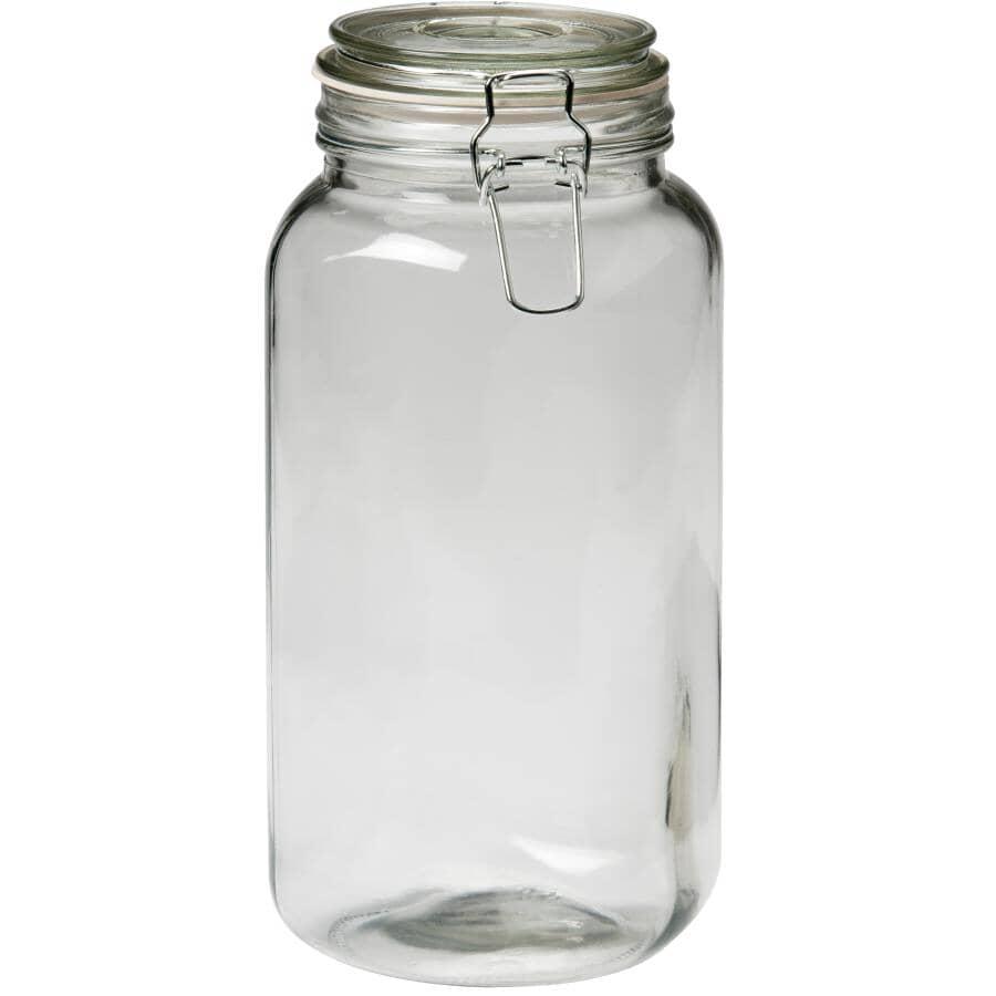 KITCHEN BASICS:Snap Top Food Jar - 2 L