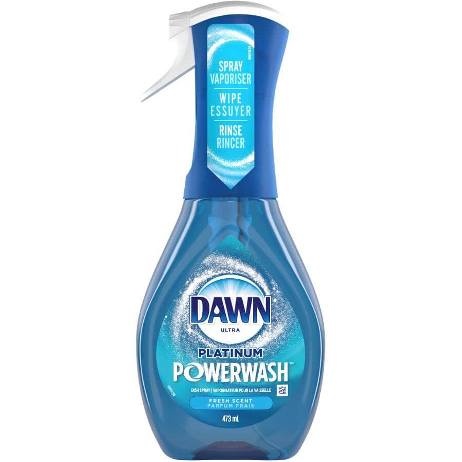 DAWN:Platinum Powerwash Dish Spray - Fresh Scent, 473 ml