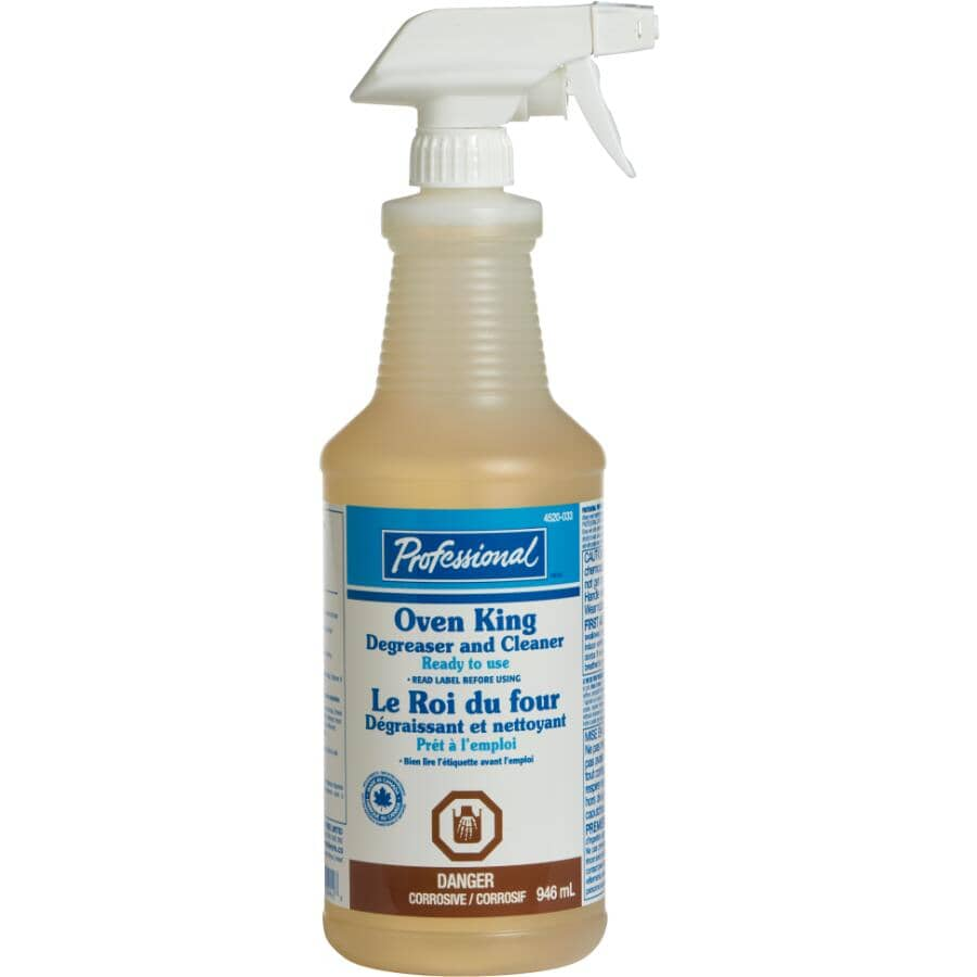 PROFESSIONAL:946mL Oven/Griddle/Grill Foaming Cleaner