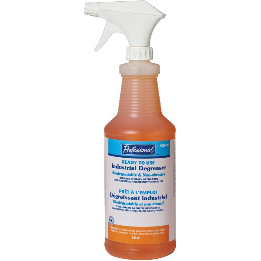 PROFESSIONAL:946mL Industrial Cleaner/Degreaser