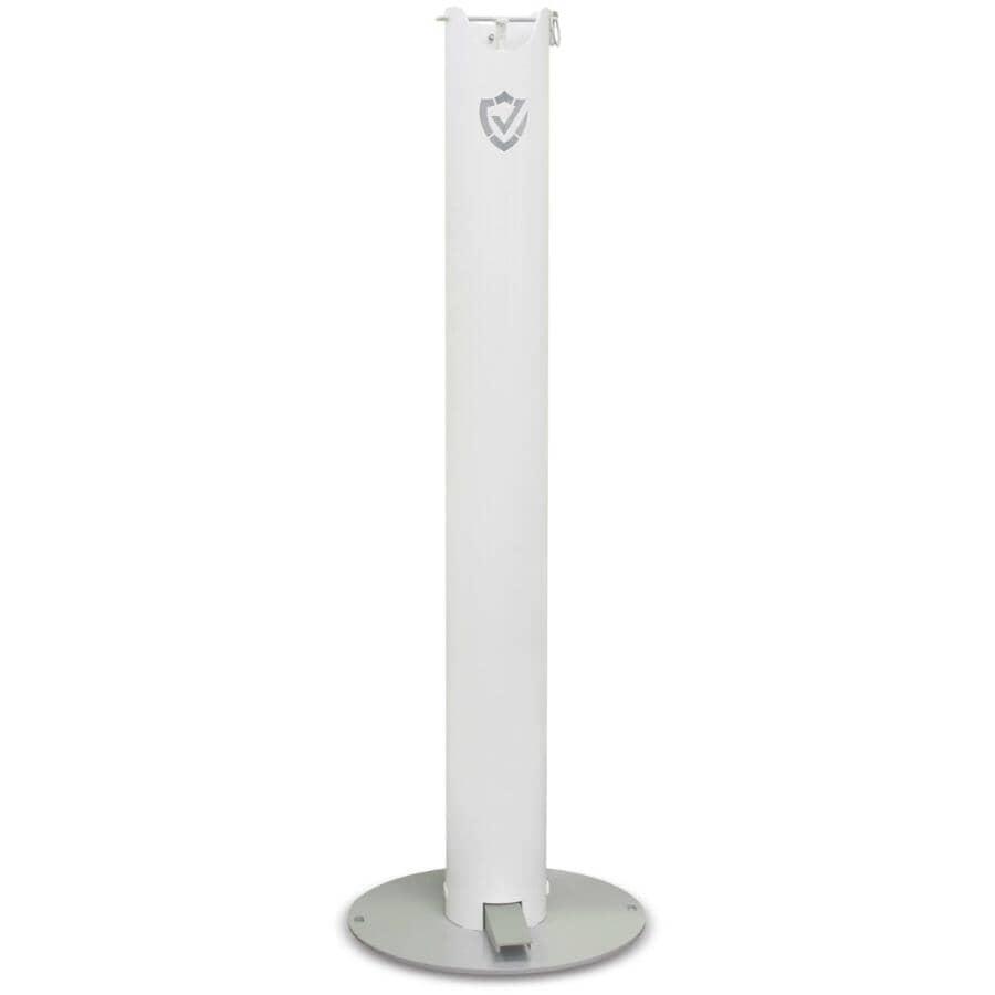 UBT SHIELD:Pedal Activated Hand Sanitizer Dispenser