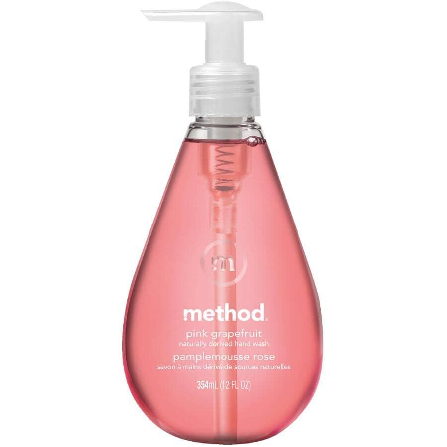 METHOD:354ml Pink Grapefruit Gel Hand Soap