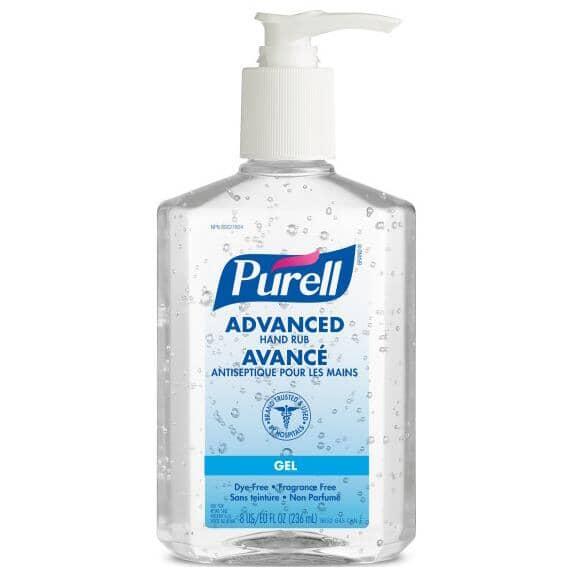 PURELL:236mL Hand Sanitizer, with Pump