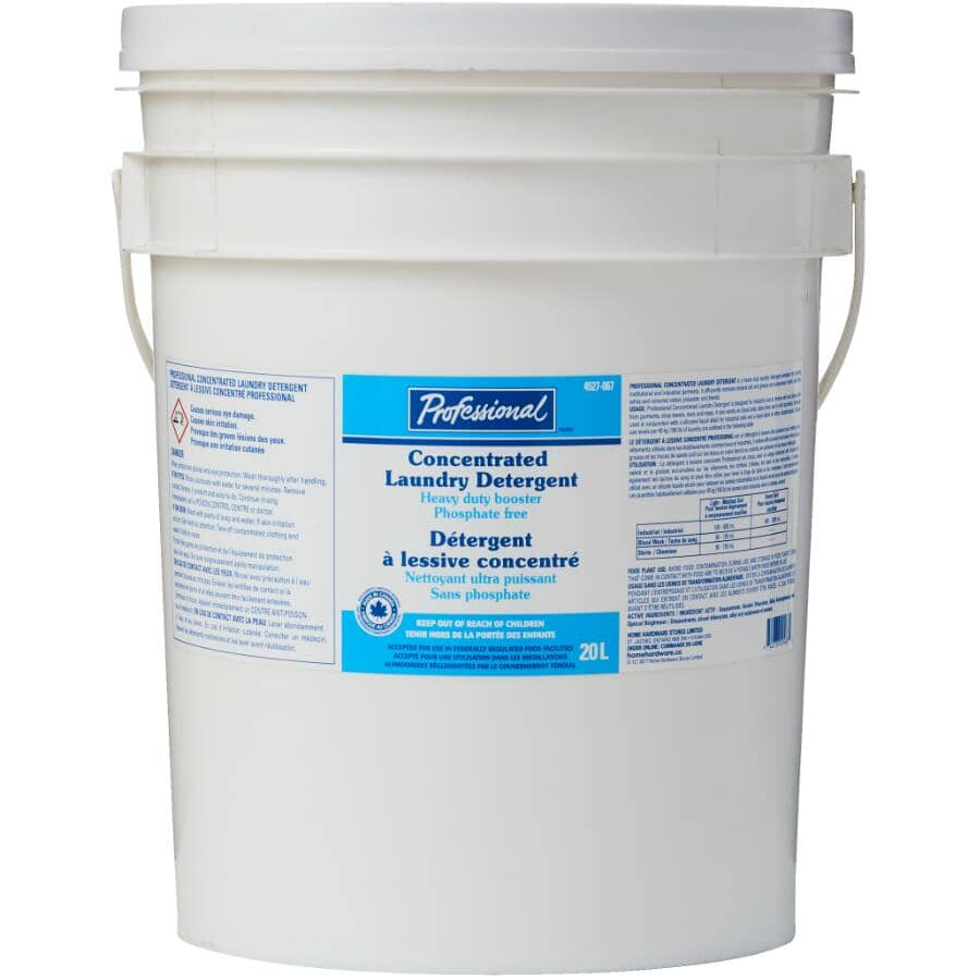 PROFESSIONAL:20L High Efficiency Concentrated Preen Laundry Detergent